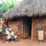 AIDS, mud hut