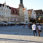 Wroclaw Old Town Square, Poland