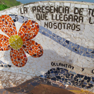 mosaic tiles of Miraflores (Love Park)