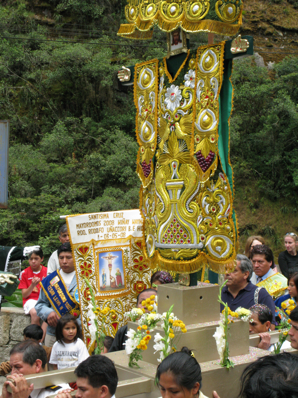 The Cross Festival at Aguas Calientes / Machu Picchu village
