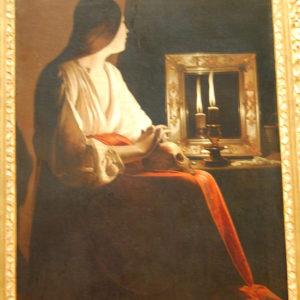 Georges de La Tour - The Penitent Magdalen