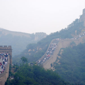The Great Wall of China - photography by Jenny SW Lee