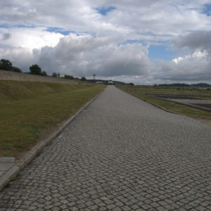 Prisoners were forced to pave this path using stones from the quarry in the concentration camp.