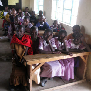 All-girls school in Maasai village in Nkoilale - photography by Jenny SW Lee