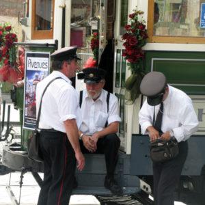 Christchurch Tramway conductors