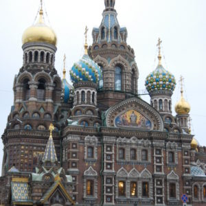 Church on Spilled Blood Cathedral