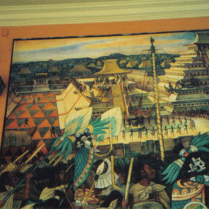 Diego Rivera murals in National Palace