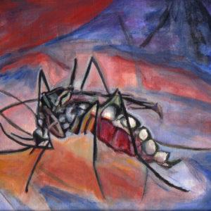 Mosquito - acrylic