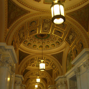 Library of Congress in Washington DC - photography by Jenny SW Lee