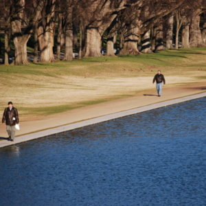 Reflecting Pool in the Washington D.C.