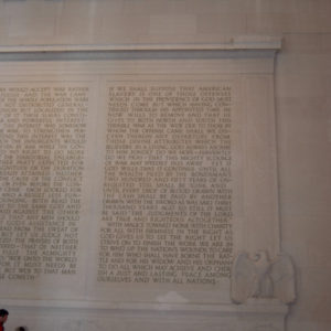 Lincoln Memorial in Washington DC - photography by Jenny SW Lee