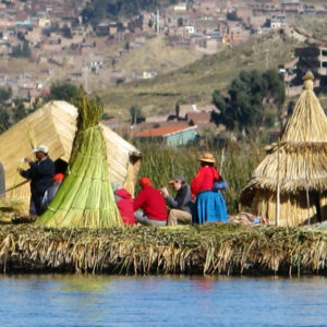 Uros Floating Island, Peru - photography by Jenny SW Lee