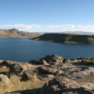 Lake Umayo in Sillustani