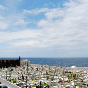 San Juan Cemetery beside the Fortress El Morro
