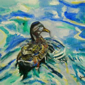 Duck - acrylic