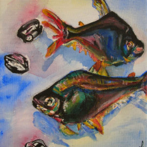Tropical Fish - watercolor