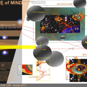 Frame of Mind:  microcosm. Design created by Jenny S.W. Lee