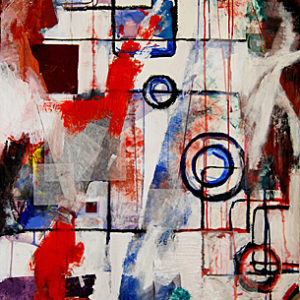 """Movement - 22x30"""" mixed media (Not Available)"""