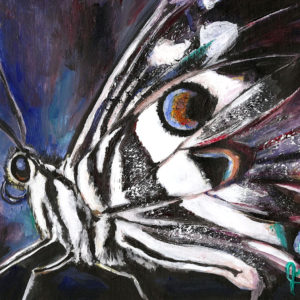 Wings of Distinction - watercolor (Available)
