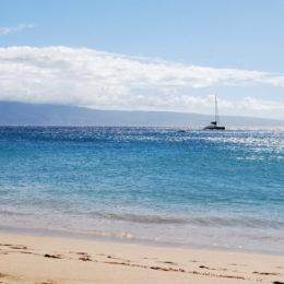 Lahaina beach