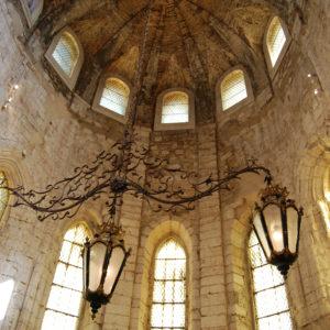 Interior of Carmo Convent