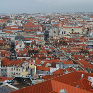 View from Largo Das Portas Do Sol in Alfama