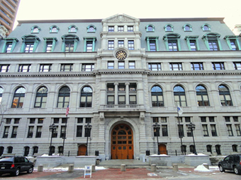 Suffolk County Courthouse Boston MA | Jenny SW Lee on Jury Duty