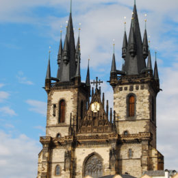 Church of Our Lady before Týn in Old Town Square