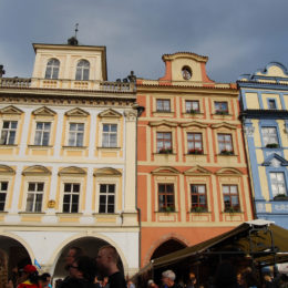Buildings in Old Town Square