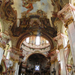 St. Nicholas Church on Lesser Town. Baroque construction.