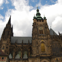 St. Vitus Cathedral. Gothic architecture.