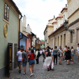 Golden Lane of the Prague Castle complex