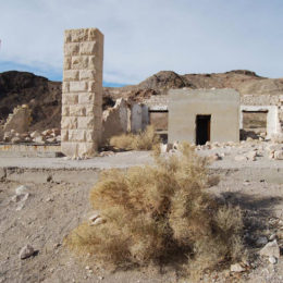 Bank Rhyolite ghost town - photography by Jenny SW Lee