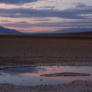 Badwater Basin at Sunset - photography by Jenny SW Lee