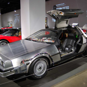Car from the film, Back To The Future