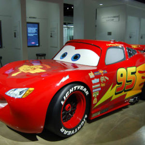 Disney Pixar film Cars - Lightning McQueen
