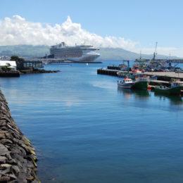 Ponta Delgada port