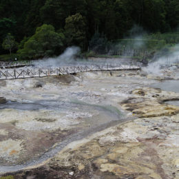 Hot springs at Furnas