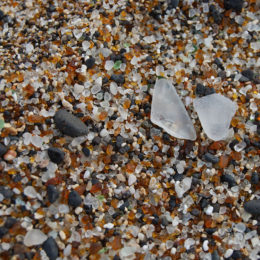 Glass Beach in Eleele