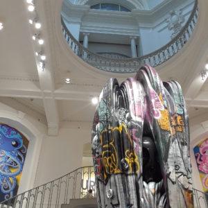 Exhibit by Takashi Murakami: The Octopus Eats Its Own Leg