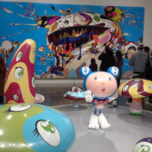 Exhibit by Takashi Murakami