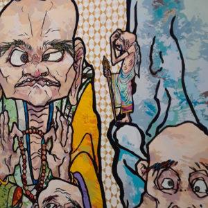 Exhibit by Takashi Murakami