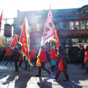 Chinese New Year Parade in Vancouver's Chinatown