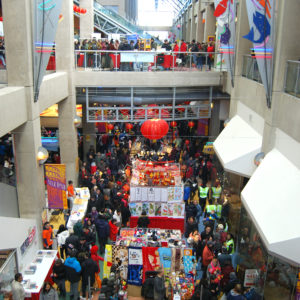 International Village Mall in Vancouver's Chinatown
