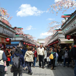 Senso-ji Temple and Marketplace | Photography by Jenny S.W. Lee