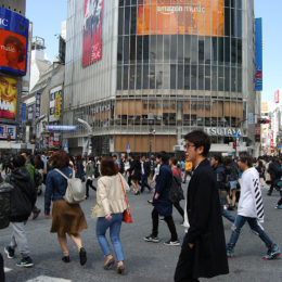 Shibuya Crossing, Tokyo Japan | Photography by Jenny S.W. Lee