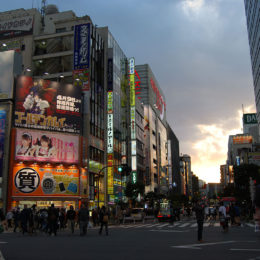 Sunset at Akihabara