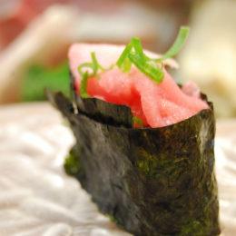 Azumaya sushi restaurant in Hasukaichi