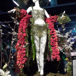 Northwest Flower and Garden Festival | Fleurs de Villes' floral art mannequins | Photography by Jenny SW Lee