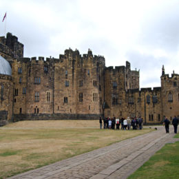 Alnwick Castle and Gardens - Harry Potter filming location